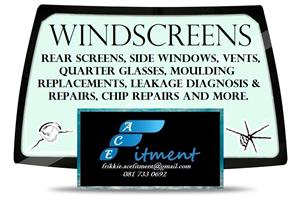 Windscreens and all automotive glass