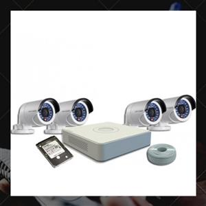 CCTV SYSTEM - NETWORK IP 4 channel