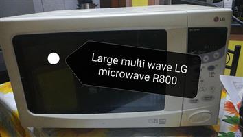 Large LG multi wave microwave