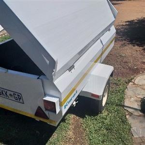 karet 6foot stainless steel trailer