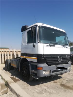 Mercedes Benzs Actros