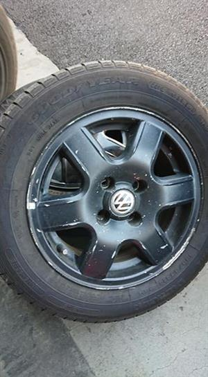 4 polo rims pcd 4/100 for sale