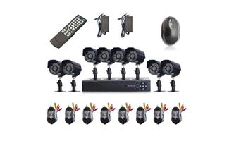 8 channel CCTV KIT plus installation