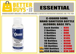 C-Guard Hand Sanitizer 50ml Bottle