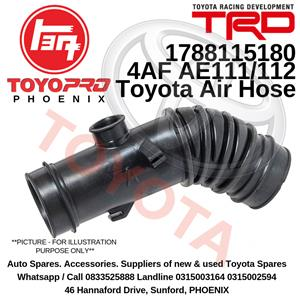 Air Intake Hose for Toyota Corolla 1993-1997 fits 17881-15180 696-726 4AFE 7AFE AE111 AE112
