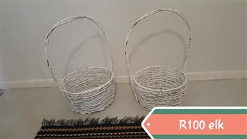 Two baskets for sale