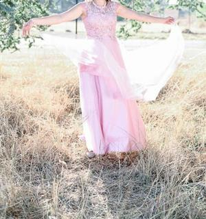 Pink Matric Fairwell Dress(S)