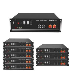 2.4KW,3.5KW,4.8KW AND 7KW PYLONTECH LITHIUM ION BATTERIES AVAILABLE - FROM R13999.00