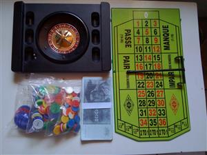 COMPLETE ROULETTE SET FOR SALE - MAKE AN OFFER