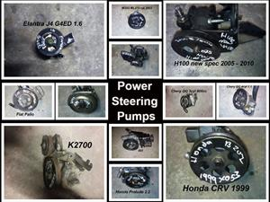 Power steering  pumps for sale for most vehicle makes and models.