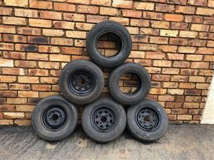 Trailer Rims & Tyres 10 Inch for Sale