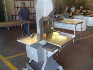 New 5 Brand New Complete Meat Bone saw Machines