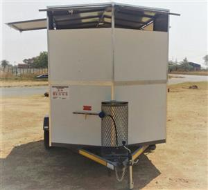 Mobile kitchen trailers fully equipped for sale