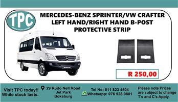 Mercedes-Benz Sprinter/Vw Crafter Left Hand/Right Hand B-Post Protective Strip - For Sale at TPC