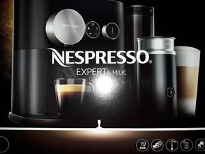 Nespresso expert and milk