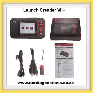 Auto scanning tool: Launch X431 Creader VII+ Comprehensive Diagnostic Instrument