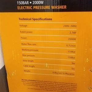 RockWorth Pressure washer