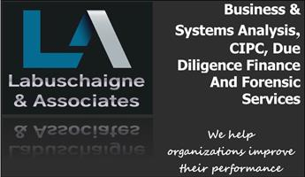 LABUSCHAIGNE AND ASSOCIATES - WE HELP ORGANIZATIONS IMPROVE THEIR PERFORMANCE