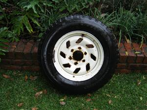 """16"""" Rim and Tyre ideal for mazda bakkie"""