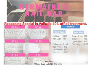 Nail and waxing special-Valhalla Centurion