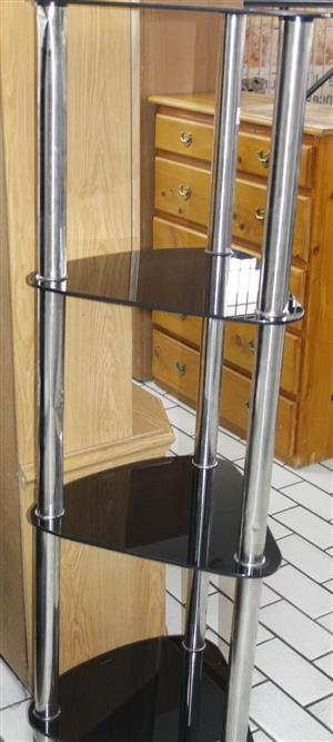 GLASS CORNER STAND S037896B  #Rosettenvillepawnshop