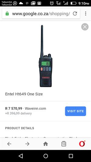 Entel 2way radios heavy duty buisness use