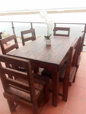Australian Pine Patio Tables