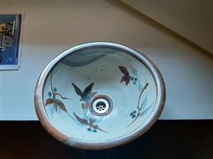 Pottery Bathroom Basin by Tim Morris