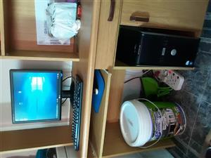 Dual core full pc set lcd screen windows 10 Microsoft office etc