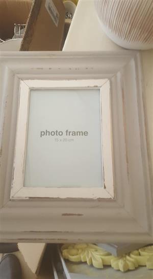 White photo frame for sale