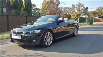 2007 BMW 3 Series 330i convertible M Sport auto