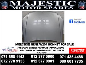 Mercedes benz w204 bonnet for sale