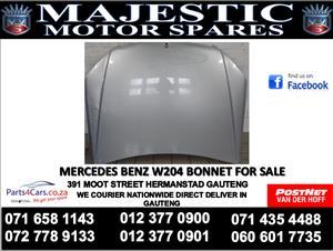 Mercedes benz w204 bonnet for sale