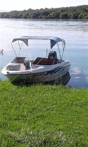 Motor Boat with trailer