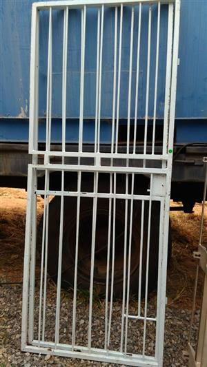 White safety gate for sale