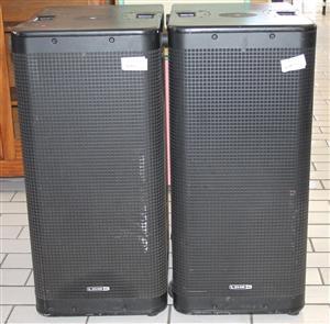 2 x Line 6 Stage Source L35 speakers S030890A #Rosettenvillepawnshop