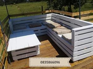 Patio pallets