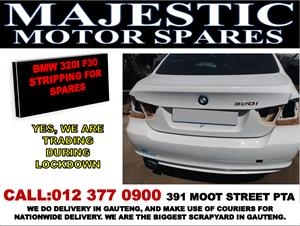 Bmw 320i f30 used spares for sale