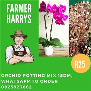 Compost 30dm , Potting Soil 30dm , Mulch 30dm & Orchid Mix 15dm