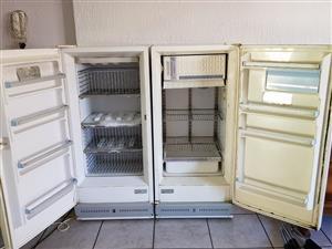 Vintage fredge and freezer
