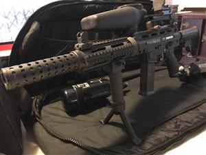 AR 15 TIPMANN X7 PHENOM paintball rifle
