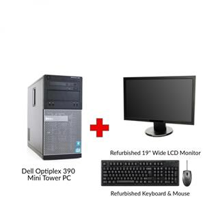 Refurbished Dell Optiplex 390 Mini Tower PC