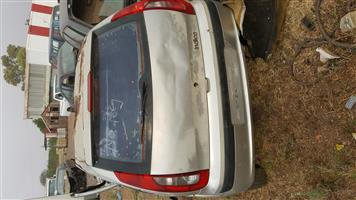 Stripping Tata Indica for spares