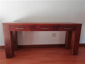 Dressing Table and Linen Chest Draws - Set -   Custom Made - Pine