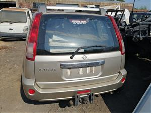 Stripping Nissan x trail for spares