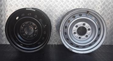 16 INCH STEEL RIMS FOR MAZDA / FORD BAKKIE FOR SALE