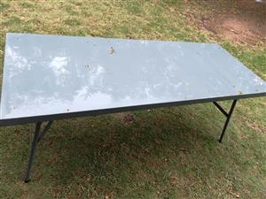 Table - metal - folding