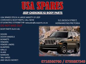 JEEP CHEROKEE KJ BODY PARTS FOR SALE- CALL NOW