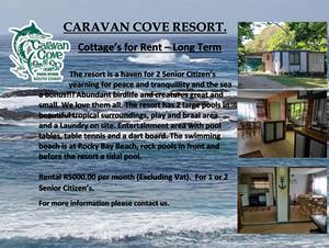 Cottages for Rent at Caravan Cove