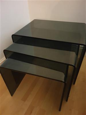 Side Tables set of three